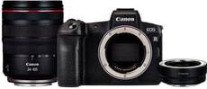 Canon EOS R + RF 24-105mm f/4L + Adapter