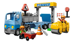 2/11LEGO DUPLO CANTIERE STRADALE 5652