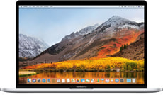 MacBook Pro 15 TouchBar 2.6 GHz i7 512 GB silver