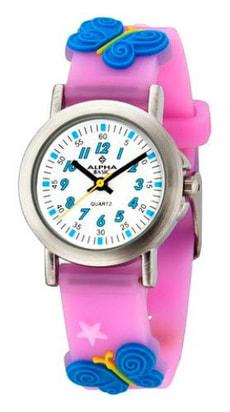 AB Kids Schmetterling pink Armbanduhr