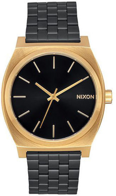 Time Teller Gold Black Sunray 37 mm