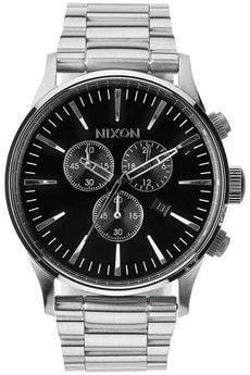 Sentry Chrono Black 42 mm