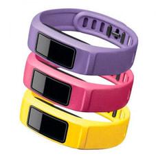 Vivofit 2 Armbänder Large gelb, rosa, violett