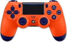 PS4 Wireless DualShock Controller v2 Sunset Orange
