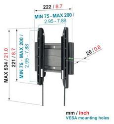 EFW-8105 Flat TV Halterung