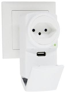 Abzweigstecker Flip USB