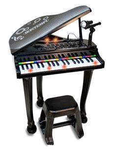 Pianoforte elettronico con microfono