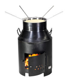 Fondue and four de grill