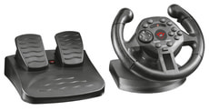 GXT 570 Compact VibratRacing Wheel (PS3/PC)