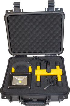 LED Standstrahler im Koffer
