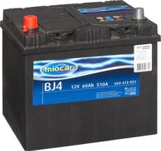 Batterie de voiture BJ4 12V 60Ah 510A