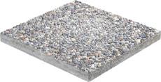Palette Dalles pour allée en béton lavé 40 x 40 cm