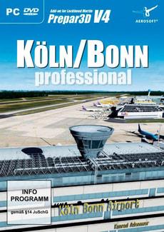 PC - Köln Bonn professional für Prepar3D V4 D