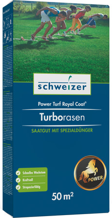 Turborasen - Power Turf Royal Coat, 50 m²