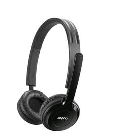 L-Rapoo Wireless Stereo Headset Black H8