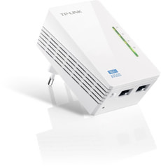 TP-Link TL-WPA4220 300Mbps 2-Port-AV500-WLAN-Powerline-Extender