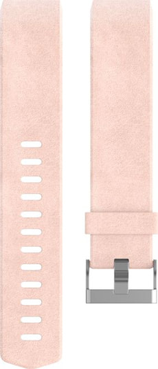 Charge 2 Cinturino in pelle Rosa Large