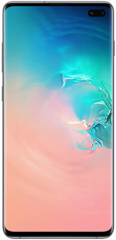 Galaxy S10+ 128GB Prism White
