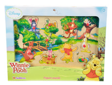 Winnie l'Ourson Puzzle forme 100 pieces