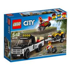 LEGO City Quad-Rennteam 60148