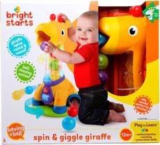 Spin & Giggle Giraffe™ Speilzeug mit Bälle