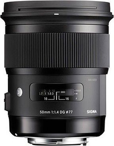 50mm f/1.4 DG HSM Art per Nikon