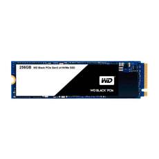 WD Black PCIe SSD intern 256GB M.2 2280