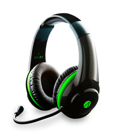 Stealth SX-01 Gaming Stereo Headset nero