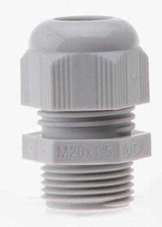 Kabelverschraubung M20, 6 Stk.