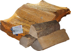 Bois de chauffage hêtre, 12 kg en sac