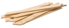 Spiedini larghi in legno