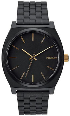 Time Teller Matte Black Gold 37 mm