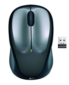 M235 Wireless Mouse nero/argento
