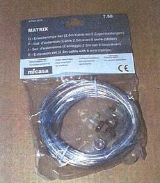 CABLE RACC. MATRIX 3M