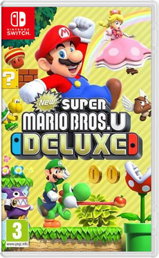 NSW - New Super Mario Bros. U Deluxe (D)
