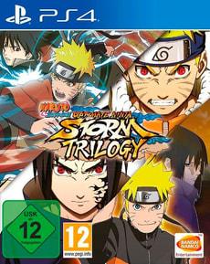 PS4 - Naruto Ultimate Ninja Storm - Trilogy D