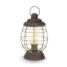 Lampe de table BAMPTON marron patiné