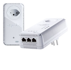 dLAN 500 AV Wireless+ Powerline Starter Kit
