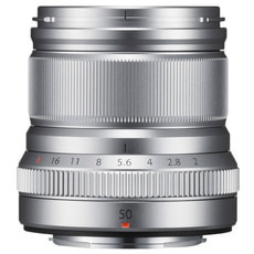 XF 50mm F2 R WR Silver