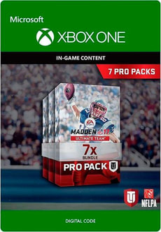 Xbox One - Madden NFL 17: 7 Pro Pack Bundle