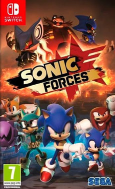 NSW - Sonic Forces - Bonus Edition I