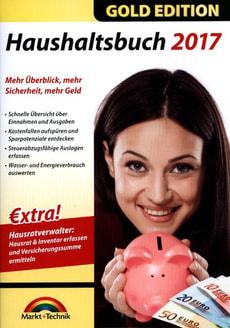 PC Gold Edition: Haushaltsbuch 2017