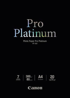 Pro Platinum Photo Paper A4 PT-101