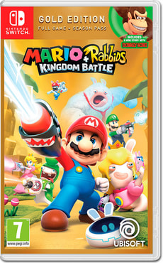 Switch - Mario & Rabbids Kingdom Battle - Gold Edition