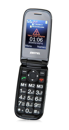Budget Phone 68 Switel M270 schwarz