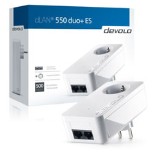 dLAN 550 duo+ Powerline Adapter