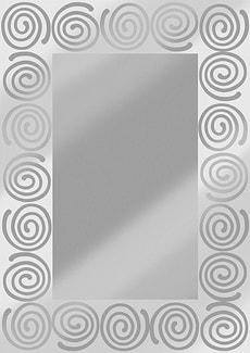 Spiegel rechteckig Siero 70x50cm
