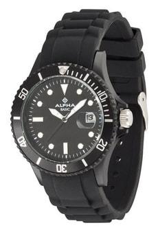 AB FASHION schwarz Armbanduhr