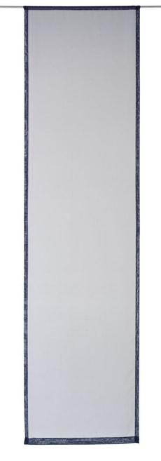 FV UNI VOILE HK, 60x230CM_medieval blue