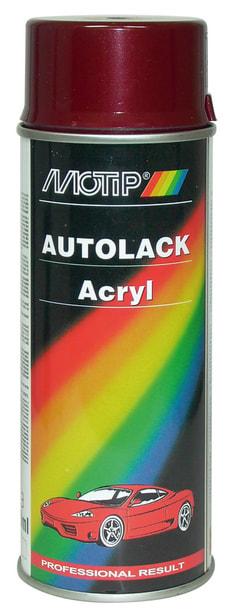 Acryl-Autolack 51478 rot metallic